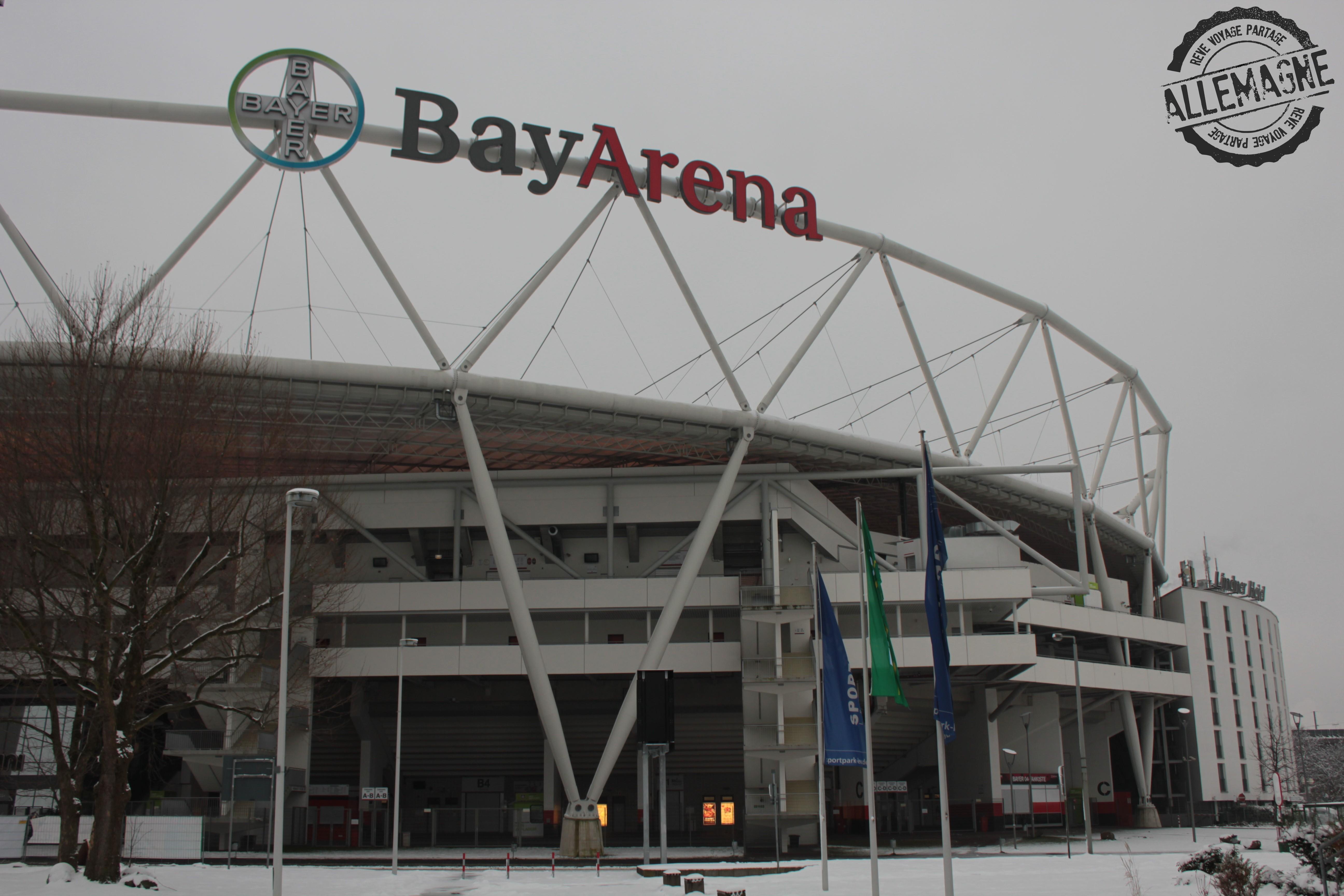 Leverkusen, Bay Arena – RÊVE VOYAGE PARTAGE